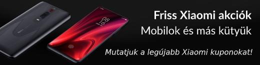 Xiaomi kuponok