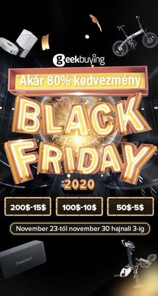 Black Friday akciók Geekbuying