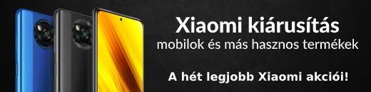 Xiaomi kiárusítás