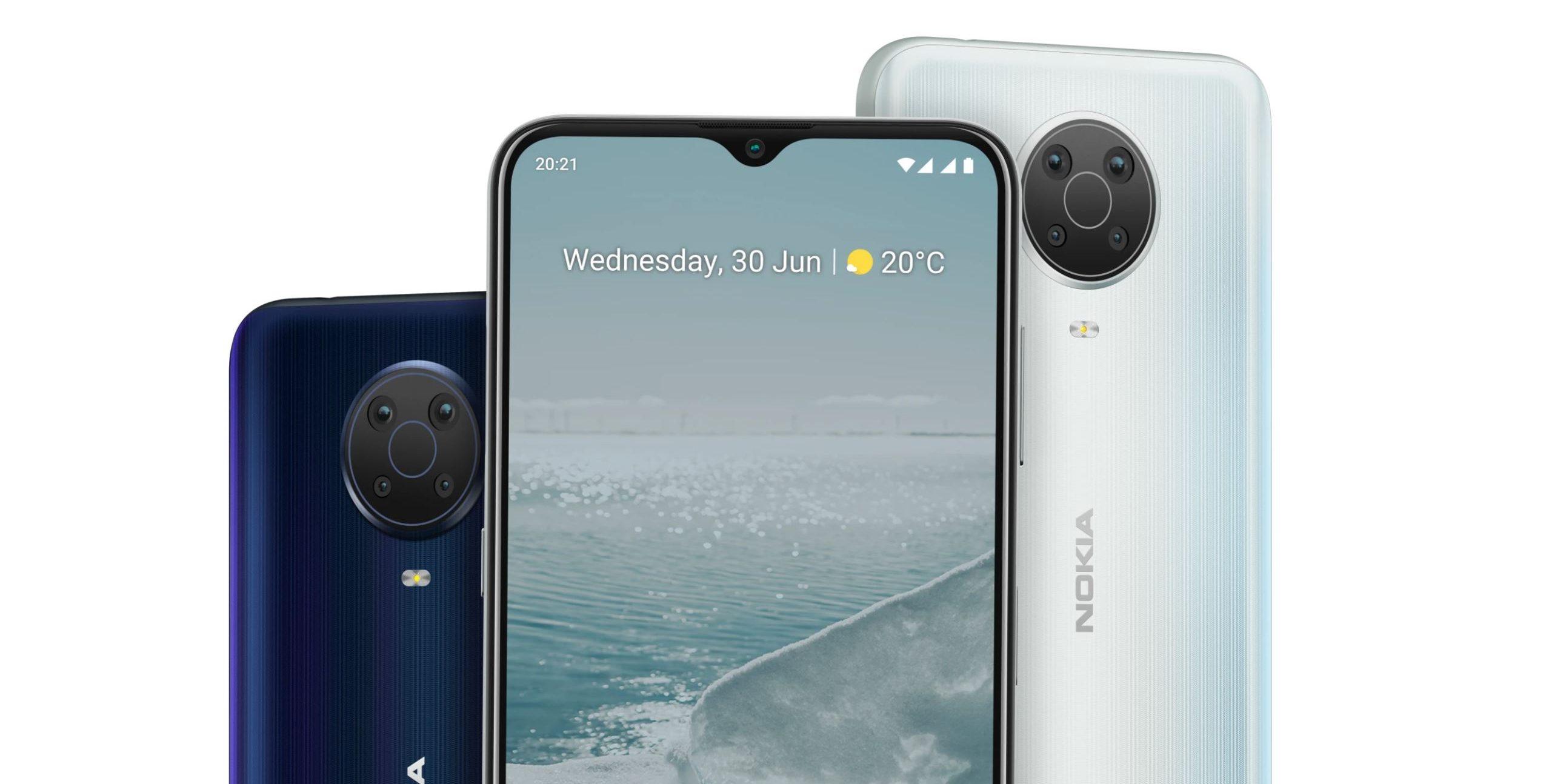 Bemutatták Nokia G10 és G20, valamint a Nokia C10 és C20 telefonokat