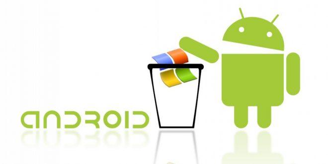 Az Android hamarosan megelőzi a Windowst