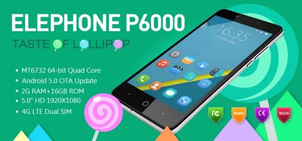 Elephone_P6000