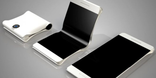 Friss képeken a Samsung hajlítható kijelzős mobilja