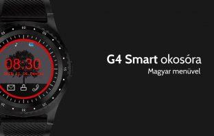 Megérkezett a magyar menüs G4 Smart okosóra 0fd22b2904