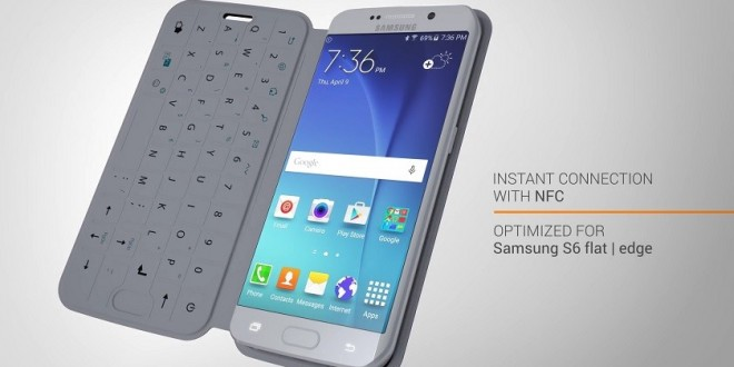 Billentyűzetes tok készült a Samsung Galaxy S6-hoz