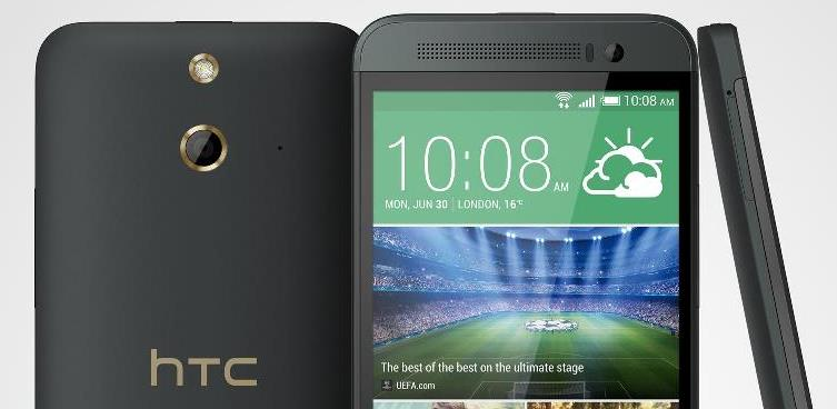 HTC-One-E8-fekete-top