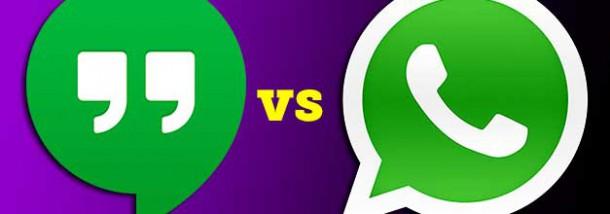 Hangouts VS WhatsApp