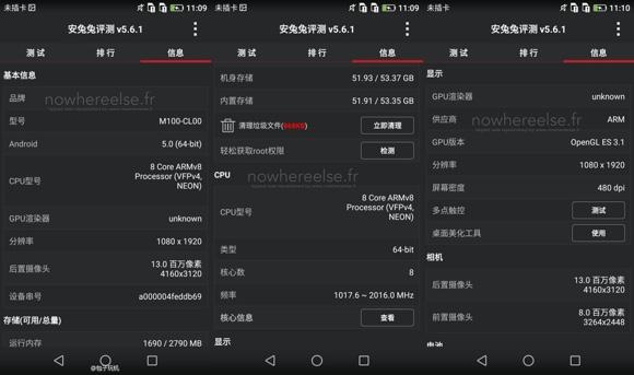Huawei P8 b