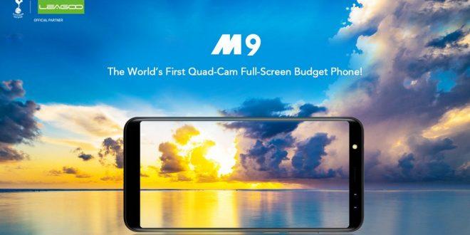Leagoo M9 – A legolcsóbb Full Screen kijelzős mobil 4 kamerával