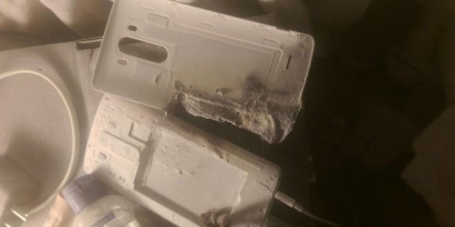 Az ágyban robbant fel egy LG G3!