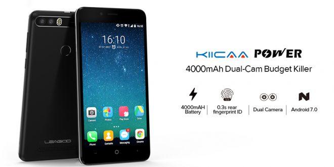 Leagoo KIICAA Power – Duál kamera, méretes aksi és filléres ár