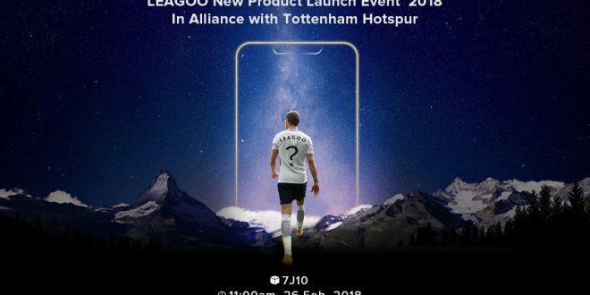 Egy ismert focista mutathatja be a Leagoo új mobiljait az MWC expón