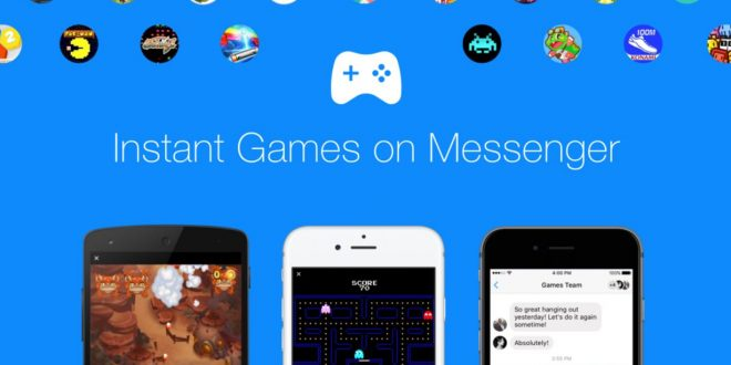 Egy rakat játék érkezett a Messengerbe