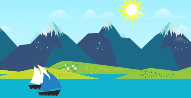 Mountains Now ingyenes élő háttérkép