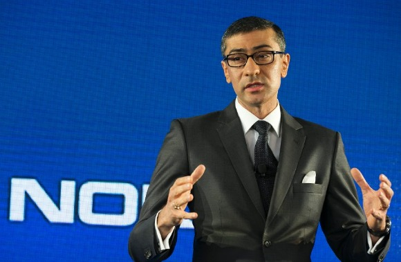 Rajeev Suri, a Nokia vezérigazgatója
