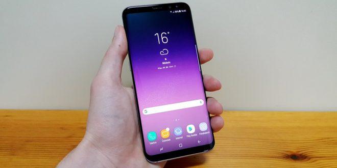 Samsung Galaxy S8+ teszt