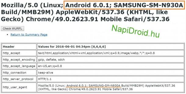 Samsung-SM-N930A-User-Agent