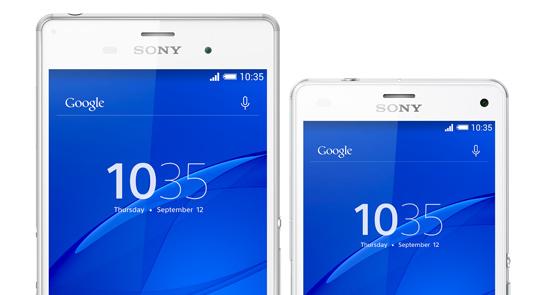 Sony Xperia Z3 és Z3 Compact – rekord üzemidő!