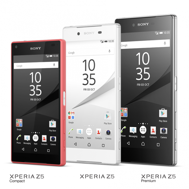 Sony-Xperia-Z5-sorozat