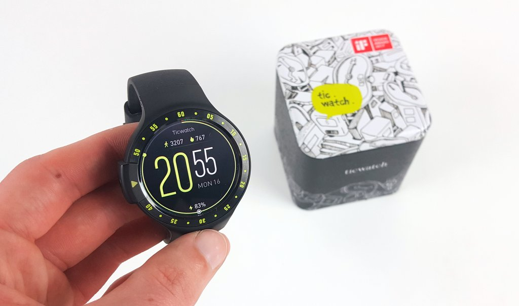 Ticwatch S teszt Android Wear okosóra megfizethető áron