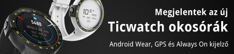 Új Ticwatch okosórák