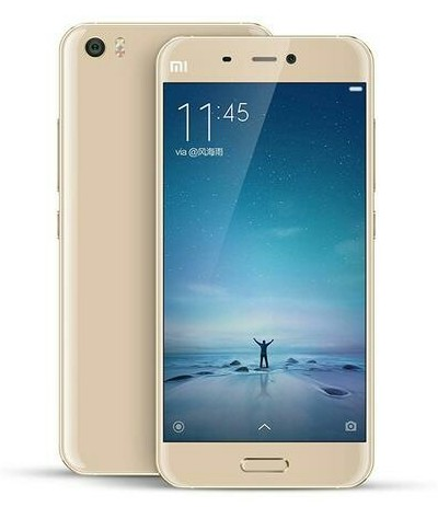 Xiaomi-MI-5-gold