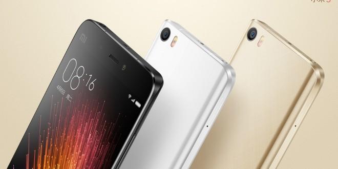 Hivatalos a Xiaomi Mi 5