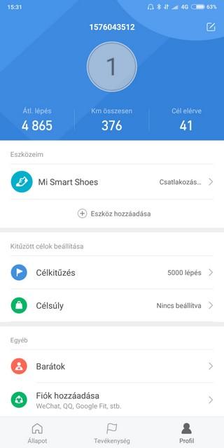 barátok csatlakoztatása app