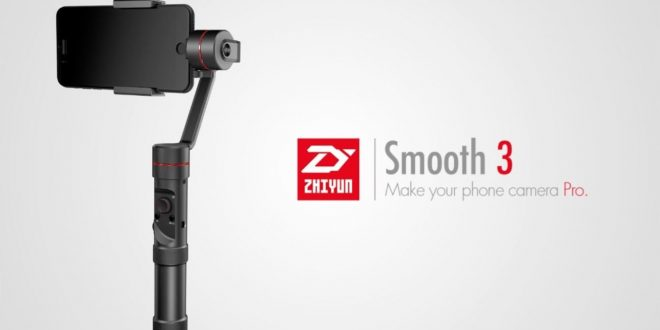 Zhiyun Smooth-3 gimbal – Profi stabilizátor elérhető áron
