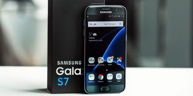 Videón a Galaxy S7 Android 7.0-s szoftvere