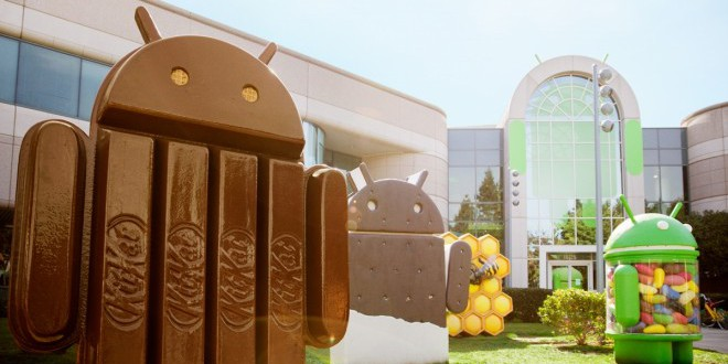 Az Androidos készülékek harmadán KitKat fut!