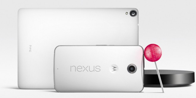 Hivatalos videón a Nexus 6 és a Nexus 9!