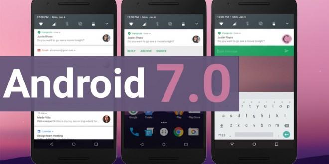 Ezek a készülékek frissülnek Android 7.0-ra