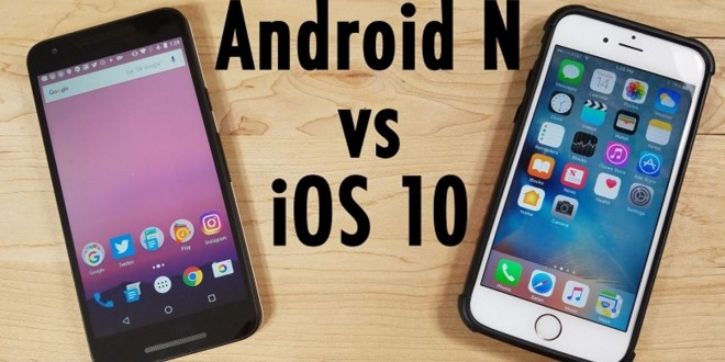 Videó: Android N vs. iOS 10
