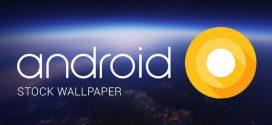 Itt az Android O gyári háttérképe