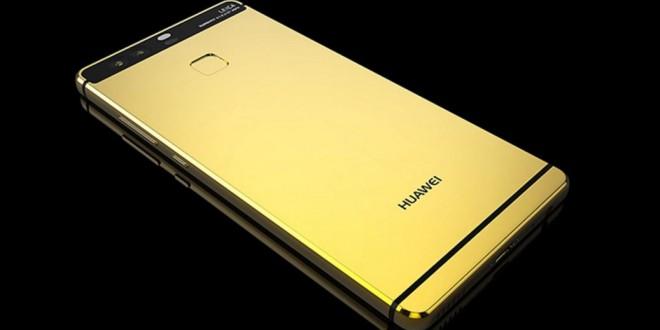 Itt a 24 karátos arannyal bevont Huawei P9