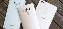 Három Asus Zenfone 3 modellt mutattak be