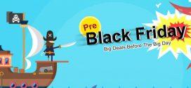 Black Friday előtti akciók a Banggood weboldalán