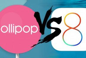Az Android 5.0 stabilabb, mint az iOS 8