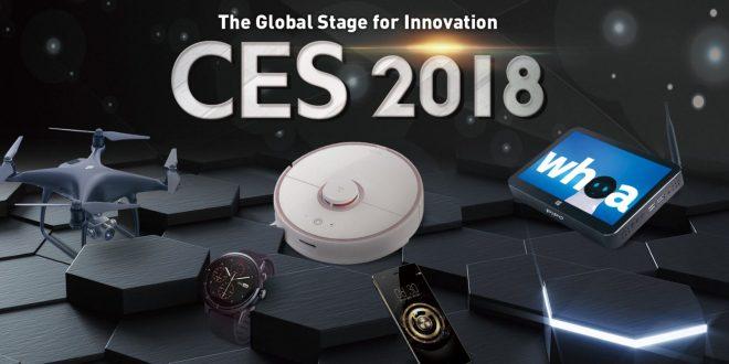 CES 2018 akciók a Geekbuying weboldalán