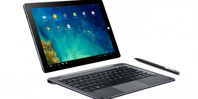Chuwi Hi10 Pro akció – 2 az 1-ben masina Remix OS-sel és Windows 10-zel