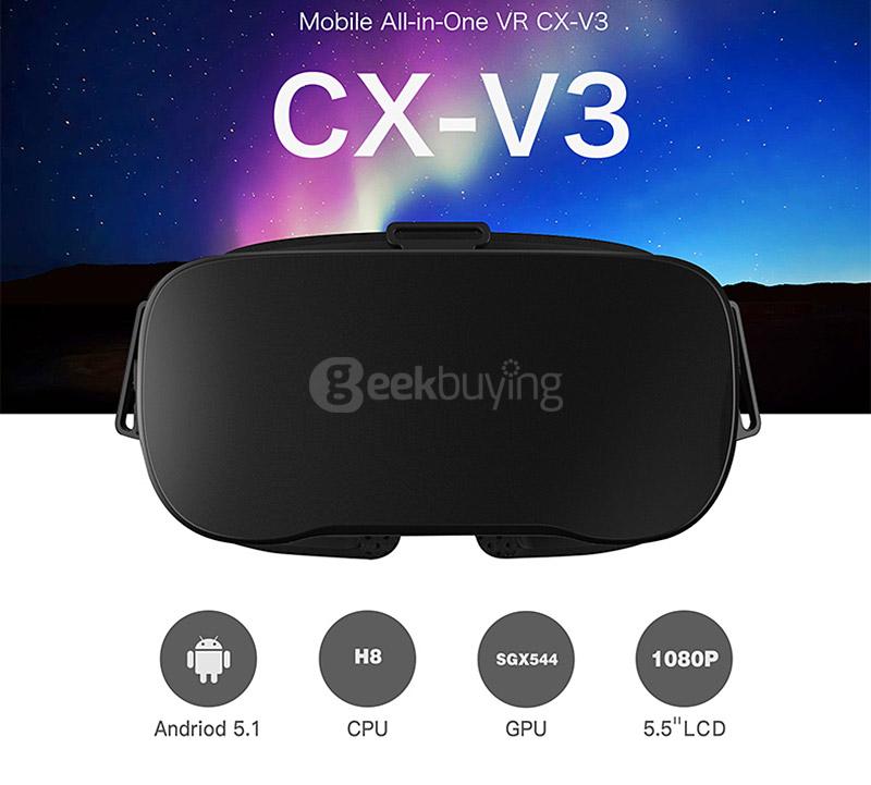 V3 Telefon nélküli VR szemüveg nagyon kedvező áron NapiDroid