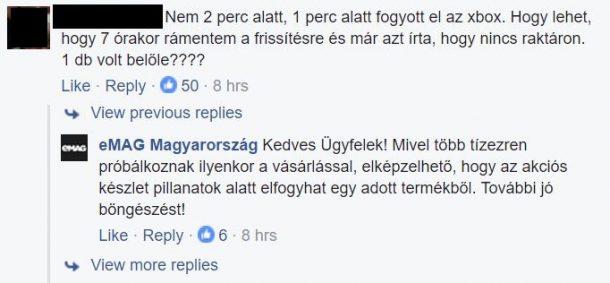 forrás: eMAG Magyarország Facebook-oldal