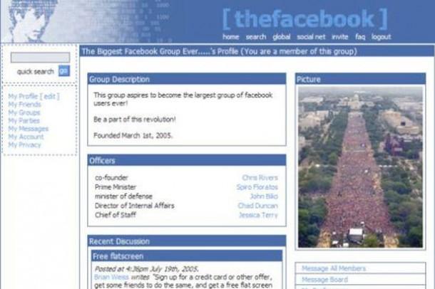 Így nézett ki a Facebook 2004-ben