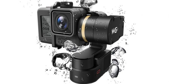 FeiyuTech WG2 – Vízálló viselhető gimbal akciókamerákhoz