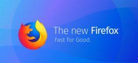 Megérkezett az új Firefox Quantum böngésző