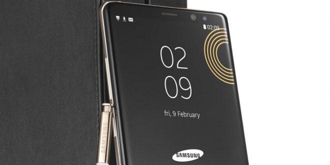 Különleges Galaxy Note 8 kiadást mutatott be a Samsung