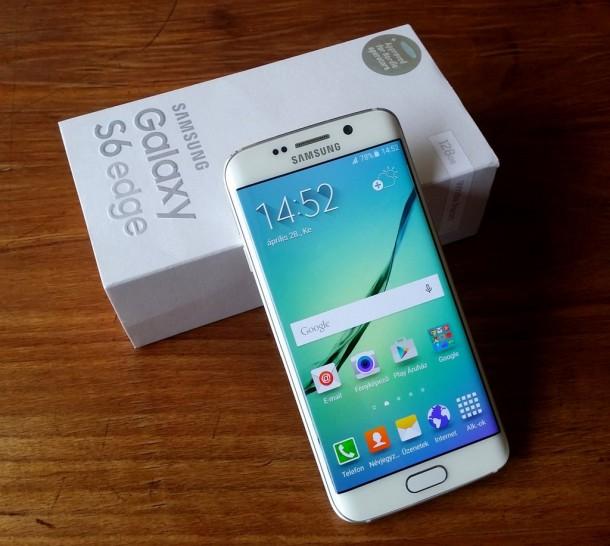 Samsung Galaxy S6 edge teszt - NapiDroid 41db76fc54
