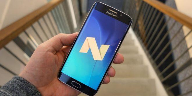 Bemutató videón a Galaxy S6 (edge) új, Android 7.0-s szoftvere