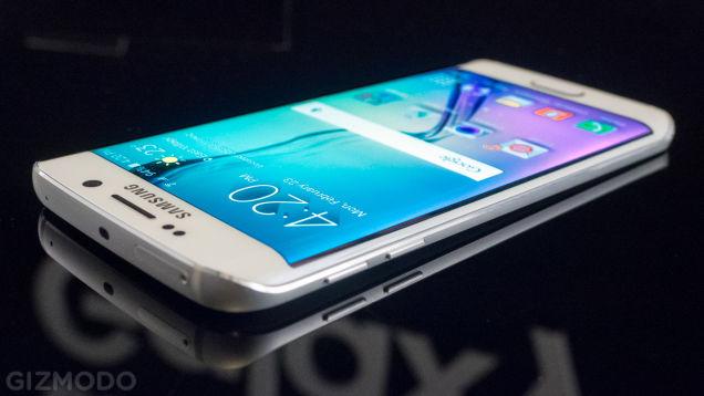 Samsung Galaxy S6 edge (fotó: gizmondo.com)